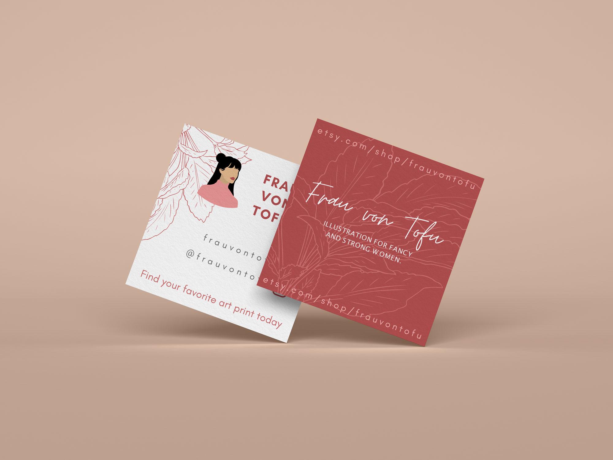 Frau Von Tofu Visitenkarten